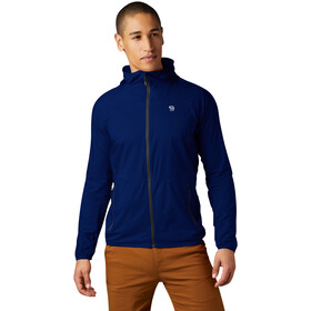 Mountain Hardwear Kor Preshell Capuchon Jas Heren, nightfall blue